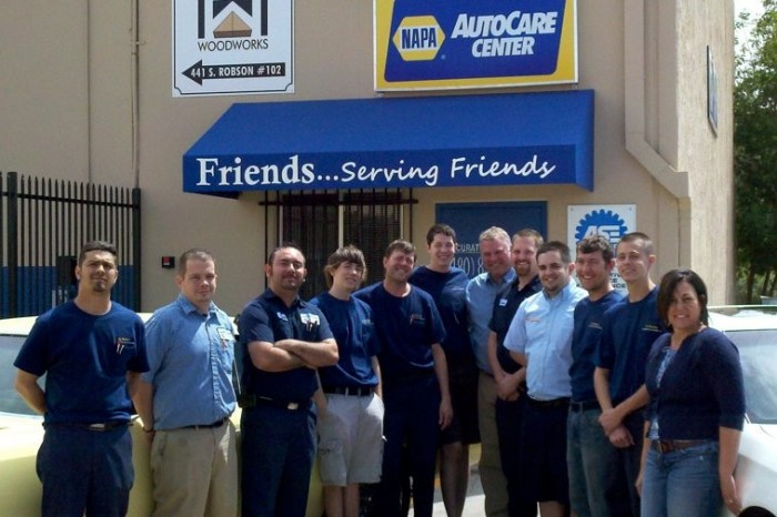 used car inspection, buying a used car, NAPA AutoCare Center