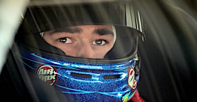 Chase Elliott during practice for the VFW Help A Hero 200 at the Darlington Raceway in Darlington, SC.