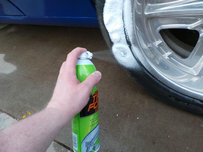 Spray it on.