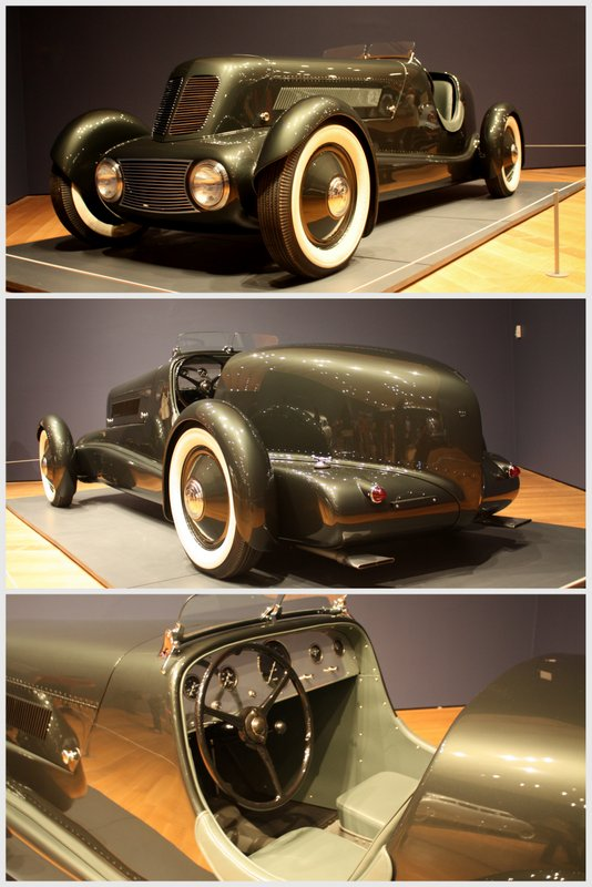 1934 Edsel Ford Model 40 Special Speedster collage Dream Cars High Museum - NAPA Know How Blog