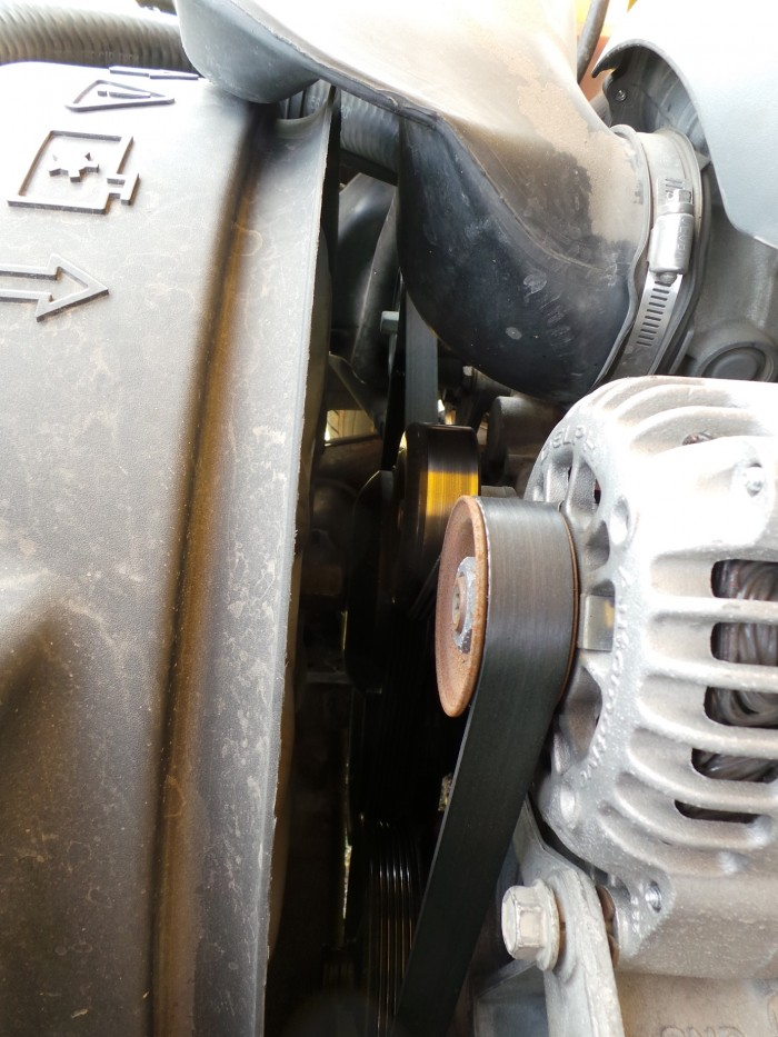 Serpentine belts don't make much fuss until they break. Make sure you check the belts regularly.