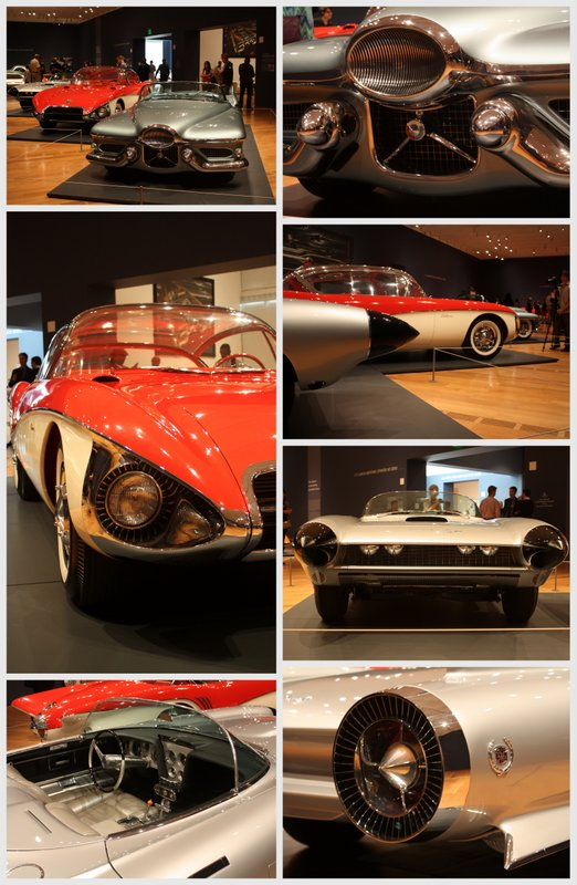 General Motors Concepts 1950s collage Dream Cars High Museum - NAPA Know How Blog