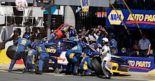 NASCAR, Nationwide Series, NAPA AUTO PARTS, Charlotte, 2014