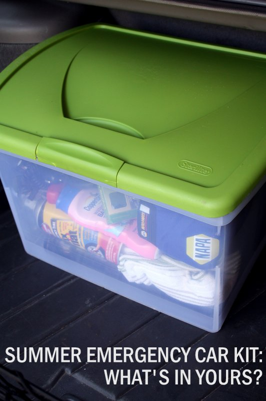 Summer Emergency Car Kit whats in yours - NAPA Know How Blog