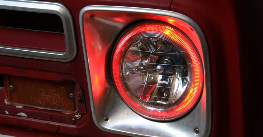 Increasing your headlights adds safety for you and other drivers.