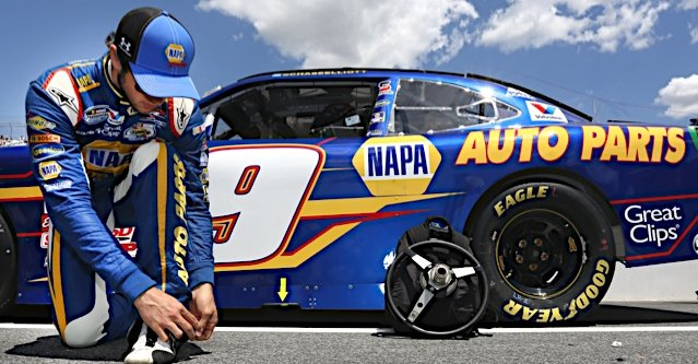 Chase Elliott during the Buckle Up 200 at Dover International Speedway in Dover, Delaware.