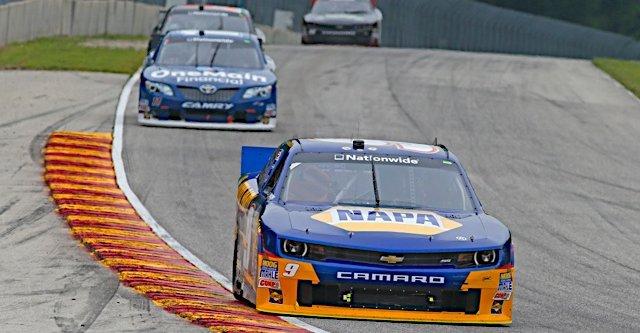 Chase Elliott during the NASCAR NNS Gardner Denver 200 Road America in Elkhart Lake, WI.