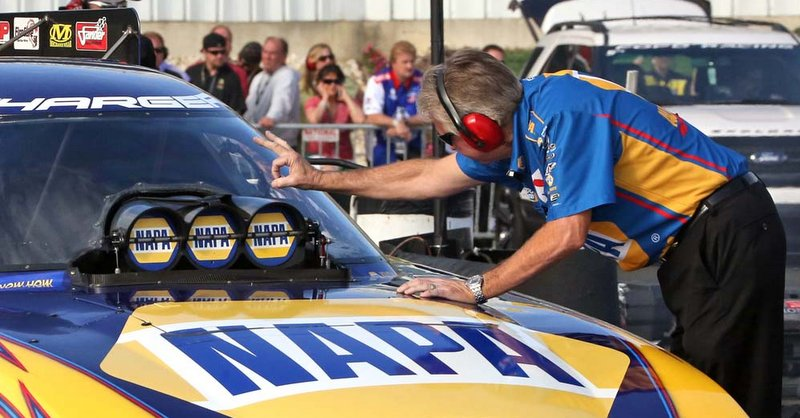 Ron Capps NAPA AUTO PARTS Dodge Charger RT Funny Car Englishtown 2014 Rahn Tobler