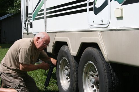 Safe Towing Tips NAPA AUTO PARTS grease camper trailer