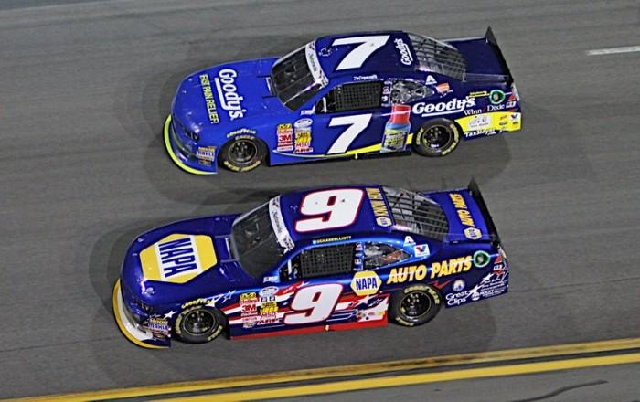 Chase Elliott Daytona 2014 NAPA AUTO PARTS Chevrolet Inside 7