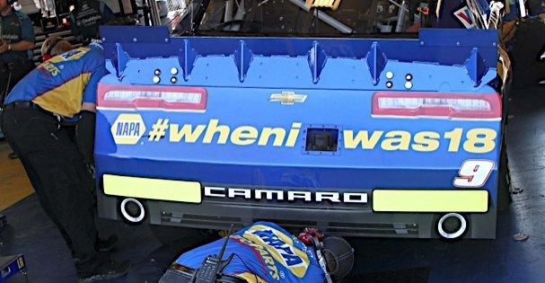 Chase Elliott Kentucky 2014 NAPA AUTO PARTS No 9 Chevrolet #wheniwas18