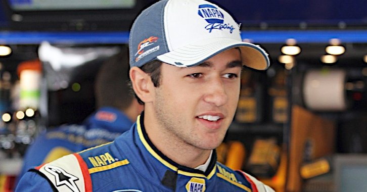 Chase Elliott during practice for the Sta-Green 200 at the New Hampshire Motor Speedway in Loudon, NH.
