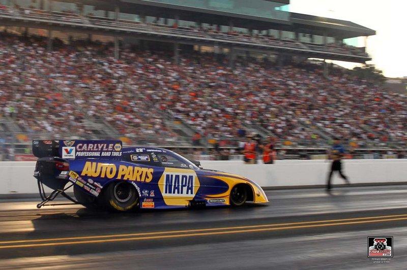 NAPA Funny Car Ron Capps NHRA Sonoma Nationals 2014 qualifying