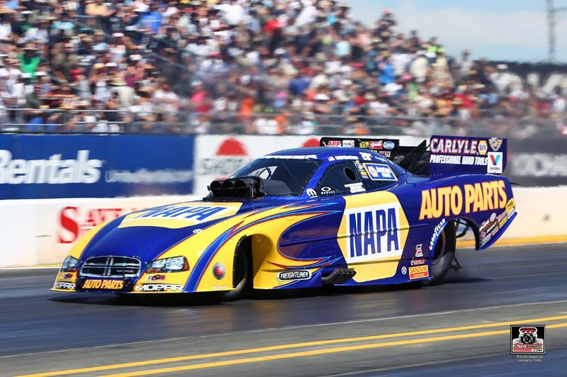 NAPA Funny Car Ron Capps NHRA Sonoma Nationals 2014 wide open