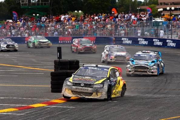 Tanner Foust Global Rallycross NY VW NAPA Chassis racing