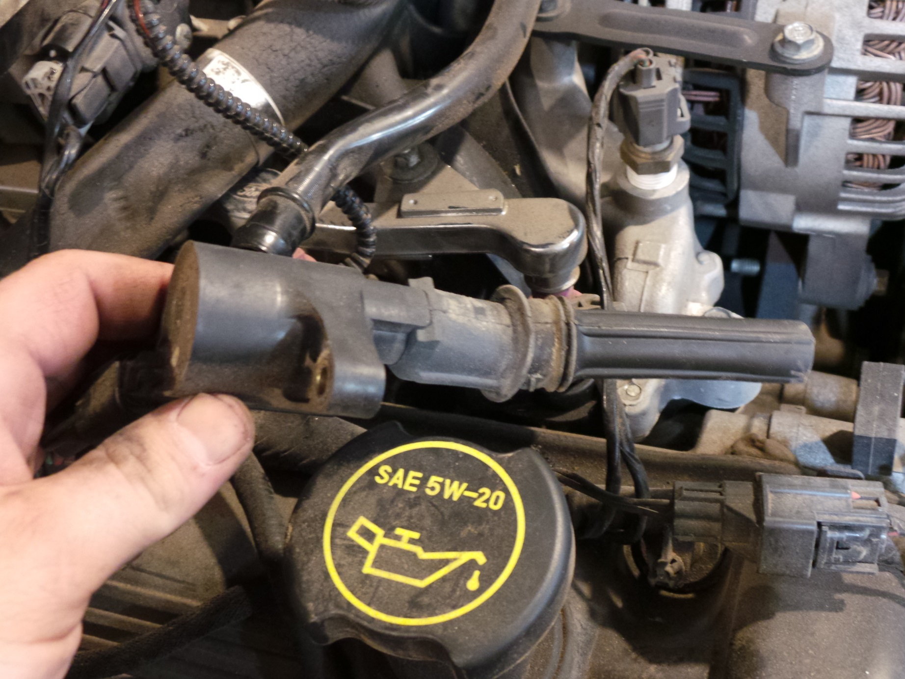 How To Upgrade Ignition Coils Wiring Harness Napa There Is A Long Rubber Boot On The Bottom Of Coil
