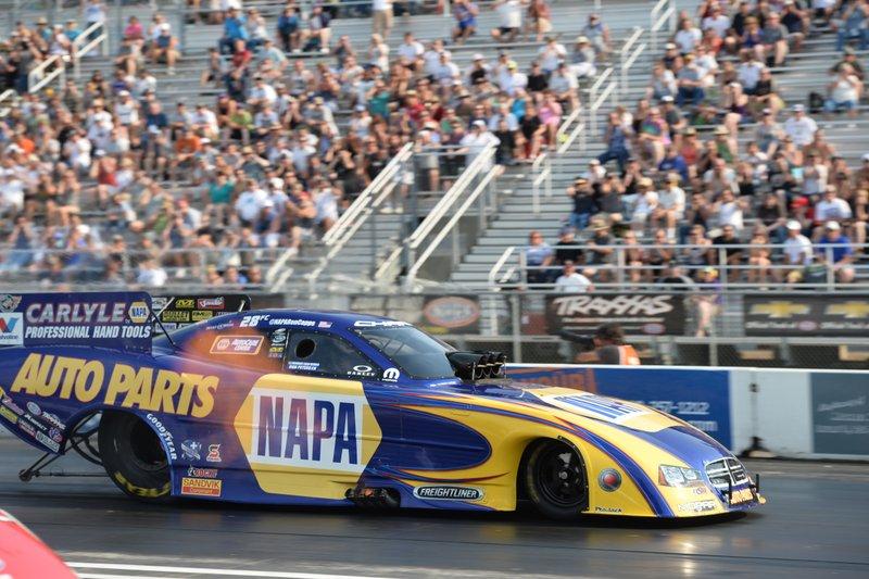 Ron Capps NAPA AUTO PARTS Funny Car 2014 Northwest NHRA Nationals mid track