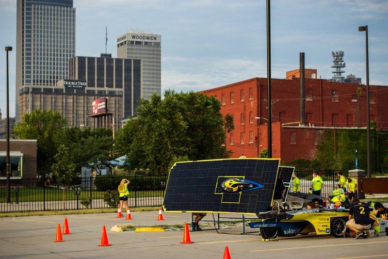 UM Solar Car American Solar Challenge Omaha NAPA Know How