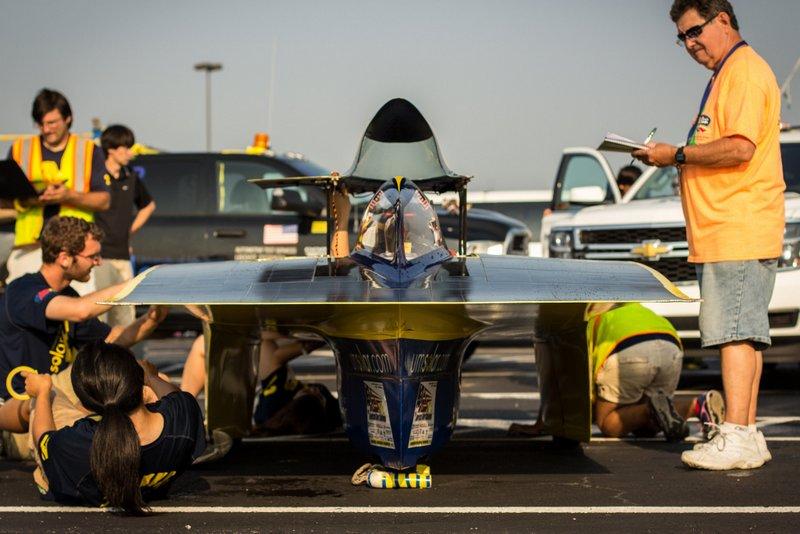 UM Solar Car American Solar Challenge crew NAPA Know How
