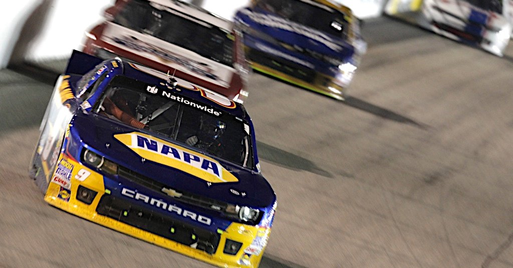 Chase Elliott during the NASCAR Nationwide race at Richmond International Raceway.