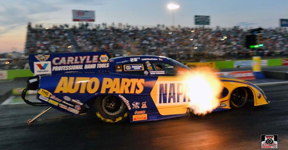 Ron Capps flames Dallas 2014