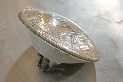 The classic sealed beam headlamp served automobiles from the 1930s through to the late 80s.