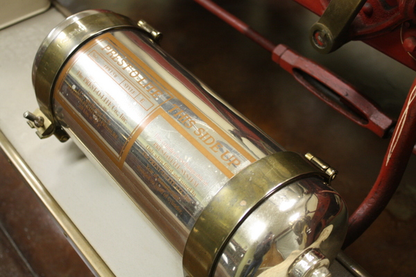 automotive lighting history - Prest-O-Lite acetylene tank - NAPA Know How Blog