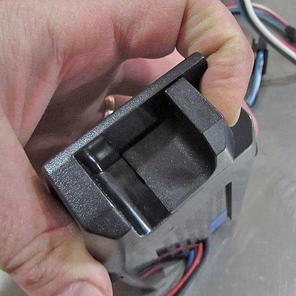 The NAPA Voyager trailer brake controller unit has a slider for manual braking.