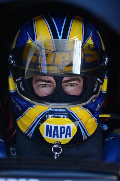 Ron Capps NAPA AUTO PARTS NHRA Funny Car Pomona 2015 helmet
