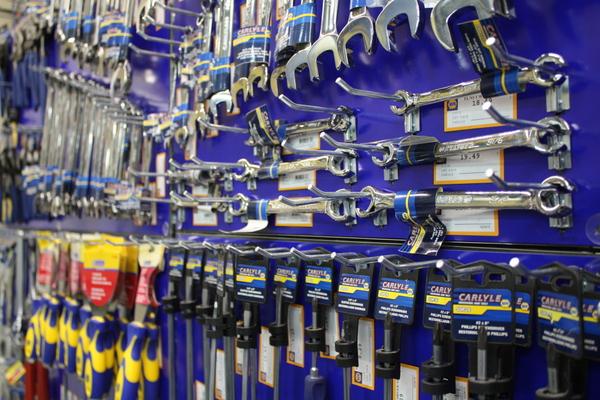 NAPA AUTO PARTS Merchant's Walk Grand Opening Carlyle Tools