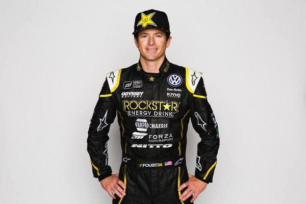 NAPA Chassis Tanner Foust Formula Drift VW Passat driver