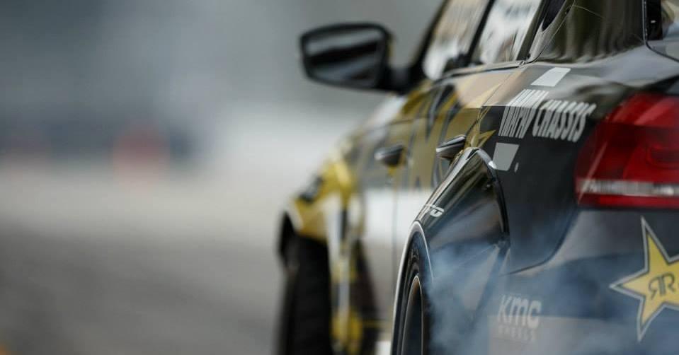 NAPA Chassis Tanner Foust Formula Drift VW Passat rear