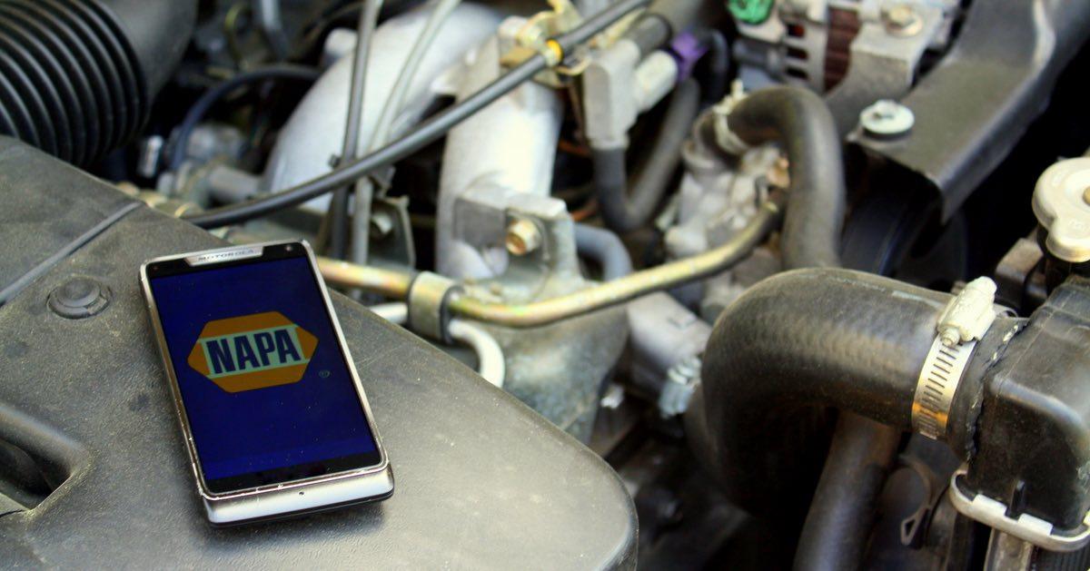 NAPA mobile app update - free VIN scanner