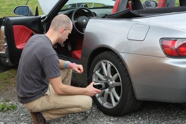 SCCA Track Night in America - NAPA Know How blog tire pressure
