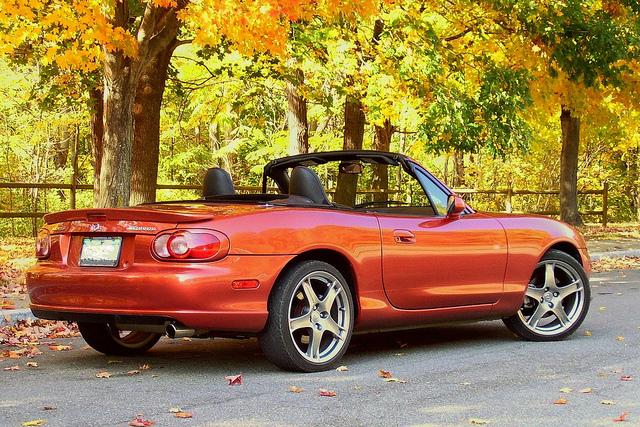 Mazdaspeed MX5 Autumn Day by It