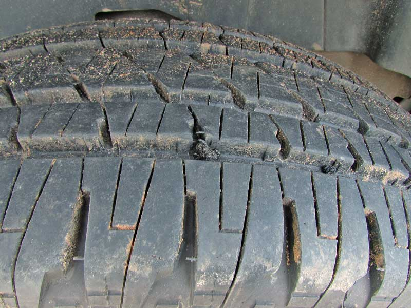 All done. You can trim the plug or leave. You will need air, so don't go driving until you have the tire aired up.