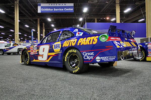 NAPA EXPO cars Chase Elliott Camaro