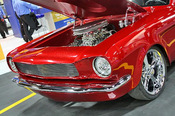 NAPA EXPO cars Chris Carlson SEMA restomod Mustang