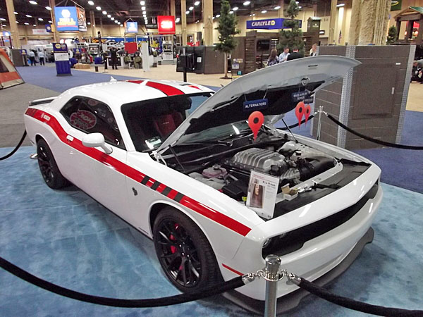 NAPA EXPO cars Dodge Challenger Hellcat