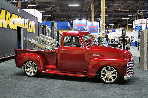 NAPA EXPO cars Magnaflow pickup