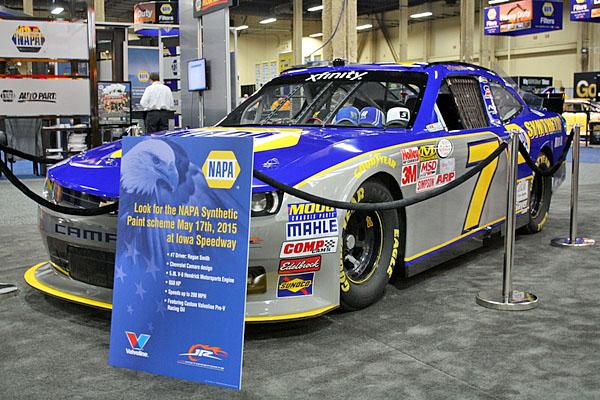 NAPA EXPO cars Regan Smith NAPA Synthetic Camaro