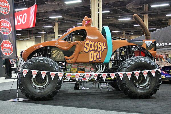 NAPA EXPO cars Scooby Doo monster truck
