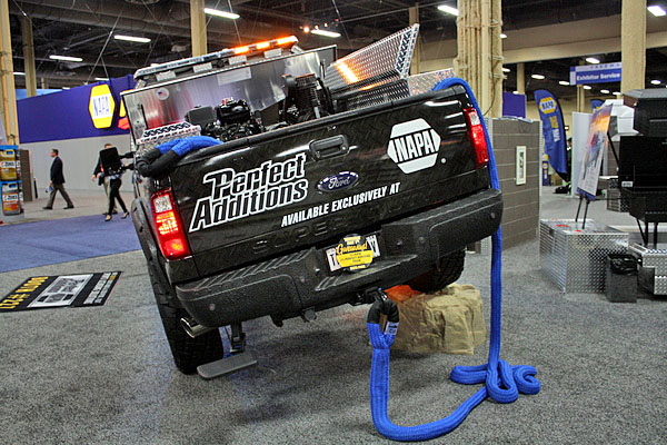 NAPA EXPO cars Stacey David Perfect Additions Ford F-250 rear
