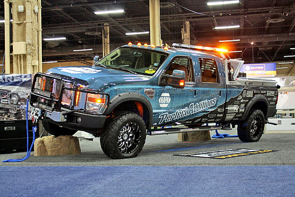 NAPA EXPO cars Stacey David Perfect Additions Ford F-250