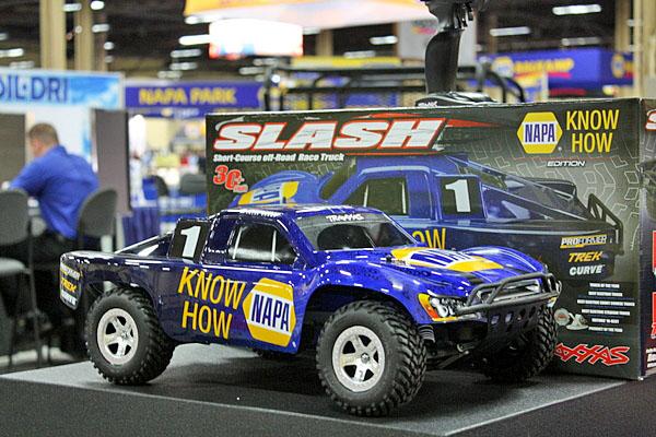 NAPA EXPO cars Traxxas Slash RC off-road race truck