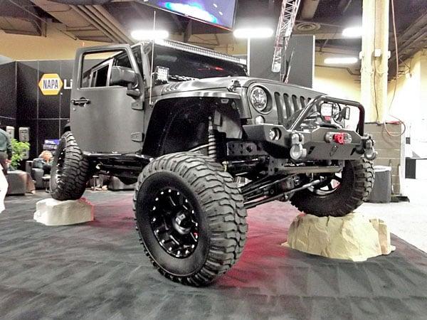 NAPA EXPO cars custom Jeep Wrangler