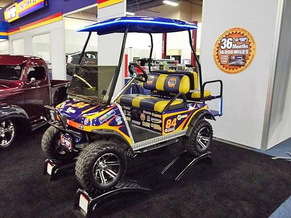 NAPA EXPO cars golf cart