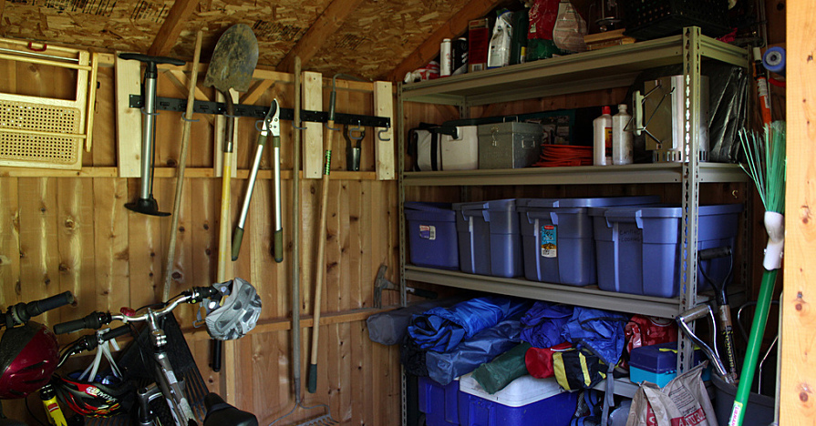 Storing your lawnmower away properly will keep it running smoothly for a long time.