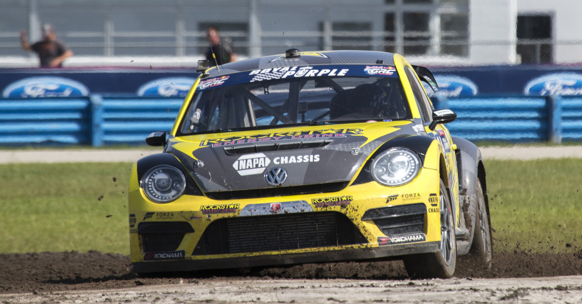 Tanner Foust Global Rallycross Daytona win