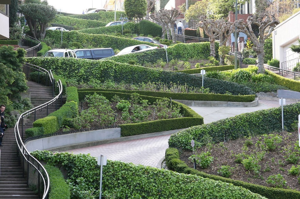Lombard Street by Nathan Bittinger on Flickr